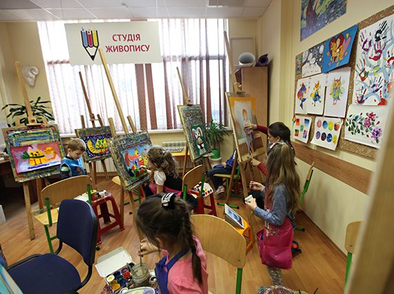 Школа Монтессори - галерея