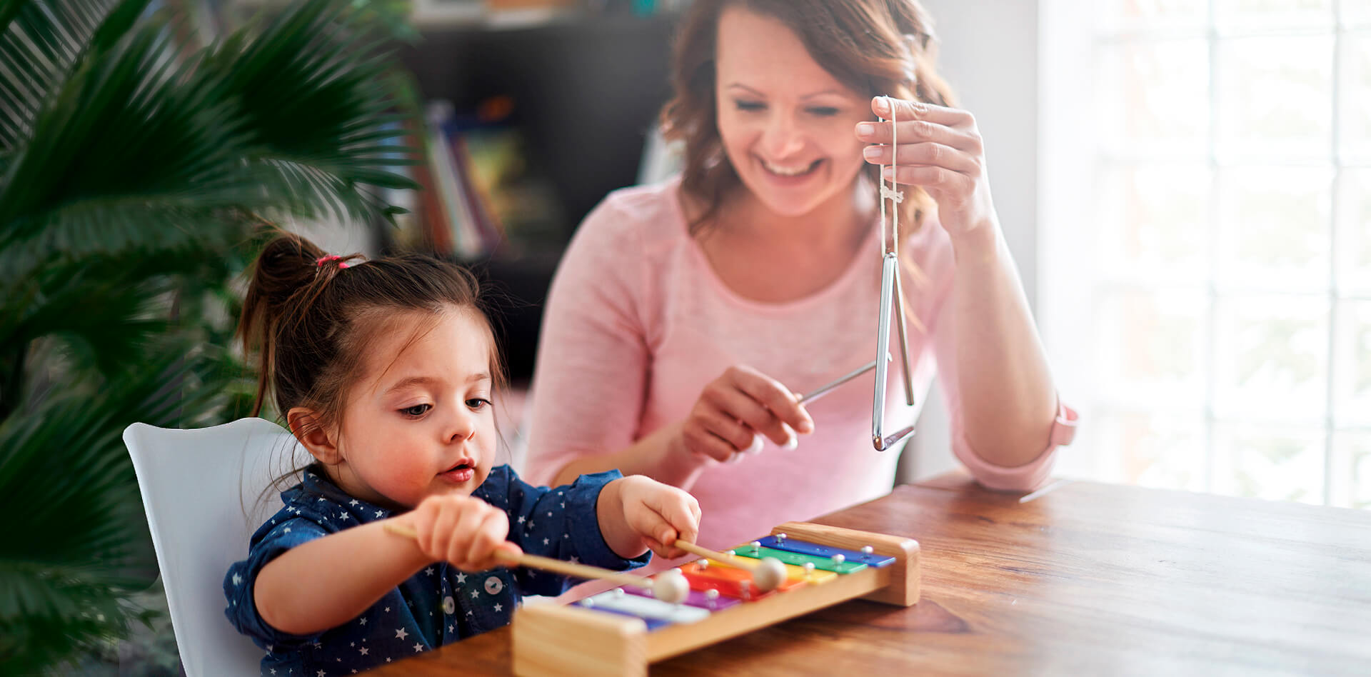 Early Music Development Lessons at Montessori Center
